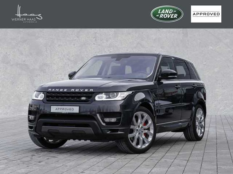 Land Rover Range Rover Sport Supercharged Autobiography Dynamic - Leder ROT!!!